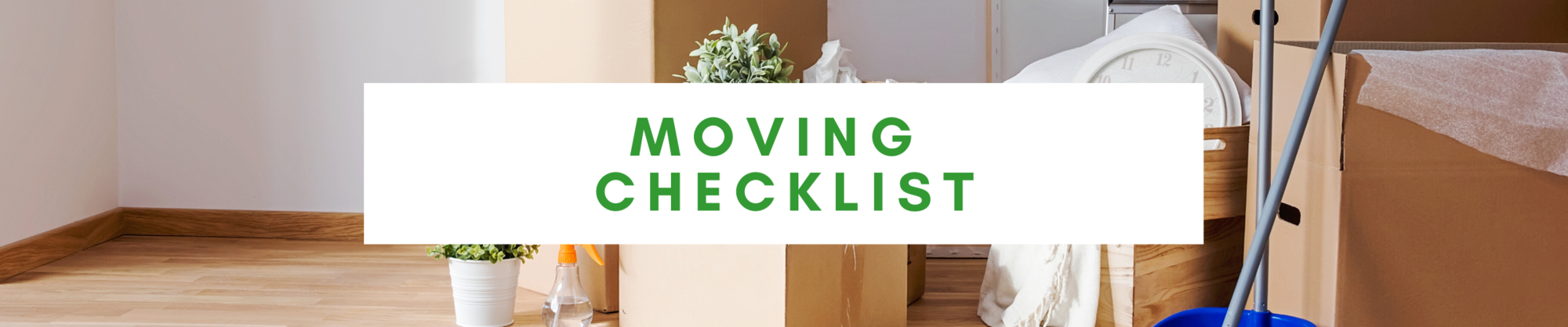 Moving Checklist | Coast Crew | Kansas City Homes